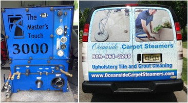 About Oceanside Carpet Steamers